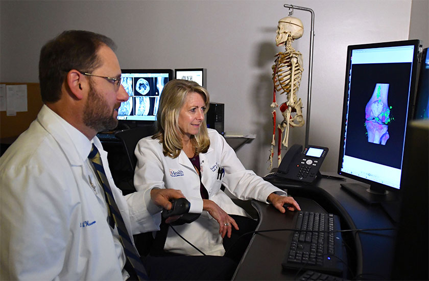 University of Florida musculoskeletal imaging radiologists at UF Health Jacksonville